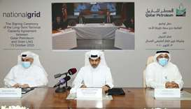HE the Minister of State for Energy Affairs, Saad Sherida al-Kaabi, also the President and CEO of Qa