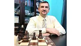 Victor Bologan, head coach of Qatar Chess Association