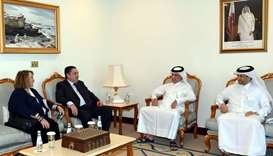 Minister of State for Foreign Affairs meets British ambassador, US Charge d'Affairs