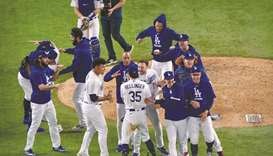 Dodgers rally to beat Braves in game seven to reach World Series
