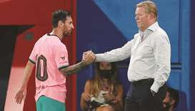Barca not among favourites: Koeman