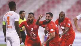 Mohammadi's late strike helps Arabi beat Umm Salal