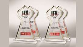 The four awards REDmoney has given QIIB as part of the IFN Awards 2020.