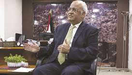 Top Palestinian official Erekat critical from virus