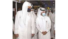 HE Sheikh Joaan bin Hamad al-Thani visited S'hail - Katara International Hunting and Falcons Exhibit