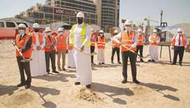 The new cooling plant will be constructed on the Pearl-Qatar and will provide sustainable cooling so