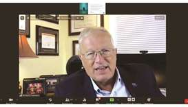 Richard Chambers, president & CEO of IIA Global, addressing a virtual event hosted by Institute of I