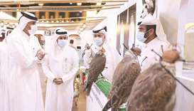 HE the PM toured the various pavilions, where he was briefed on weapons, hunting supplies, excursion