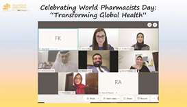 The panelists at the World Pharmacists Day event hosted by QU.