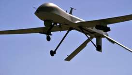 In this US Air Force file photo taken on October 21, 2015 a MQ-1B Predator remotely piloted aircraft