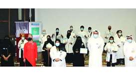 HMC's Physiotherapy Department recognises Covid-19 'heroes' as part of the World Physiotherapy Day 2