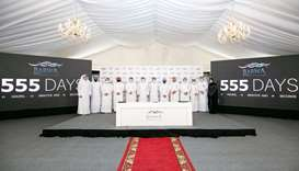 The two projects were launched during a ceremony held by Barwa on Sunday, at the site of 'Madinatna'