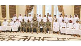 Participants of the workshop with trainers and officials.
