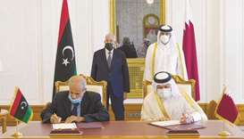 PM meets foreign, interior ministers of Libyan Government of National Accord