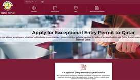 Exceptional Entry Permit can now be extended for 30 days