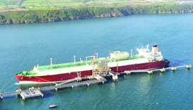 With a cargo carrying capacity of 263,300 cubic metres, Lijmiliya is wholly-owned by Nakilat and cha