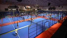 The Padel Tournament 2020 started at Al Sadd Sports Club
