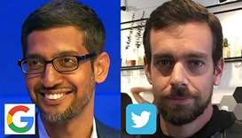 Twitter, Google CEOs defend key Internet law before US Senate panel