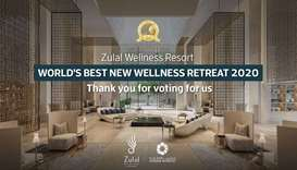 Zulal Wellness Resort recognised as World's Best New Wellness Retreat for 2020 by World Spa Awards