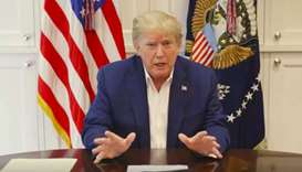 Trump says 'real test' ahead in his Covid fight after mixed messages from White House