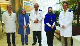 Liver Clinic team at Sidra Medicine.