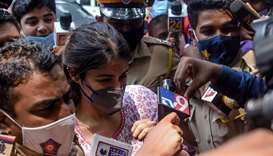Bollywood actress wins bail in ex-boyfriend suicide case