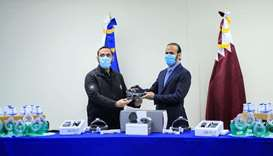 Qatar embassy delivers medical aid, equipment to El Salvador
