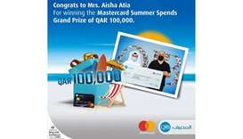 QIB announces grand prize winner of Mastercard summer campaign