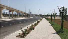 Road connecting QU Metro Station, entrances to Golf Intersection opens