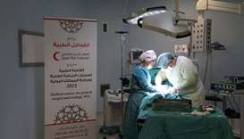 QRCS deploys surgical convoy for Syrians in Turkey