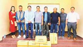 The Non-Resident Nepali Association (NRNA) Qatar has distributed to the community 20,000 units of sa