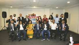 Doha Toastmasters Club conducted its first hybrid meeting recently, adhering to social distancing pr
