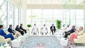 US Congress delegation discusses bilateral co-operation in investment, trade with Qatar Free Zones