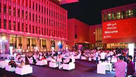 Snapshots from the launch event held at Barahat Square, Msheireb Downtown Doha.