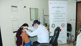 The representation office of QRCS in Iraq is executing a general surgery and oncology project for th