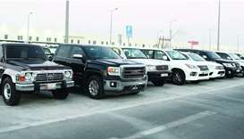 Mawater City offers a wide range of used 4x4 options. PICTURES: Shemeer Rasheed