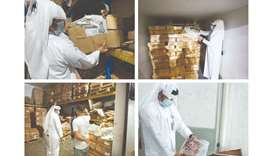 The matter came to light after inspectors seized 140kg of rotten and unfit for human consumption mea