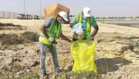 A group of 40 employees from Doha Bank took part in the campaign, as part of enhancing corporate soc