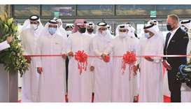 HE the Minister of Commerce and Industry and Acting Minister of Finance Ali bin Ahmed al-Kuwari lead