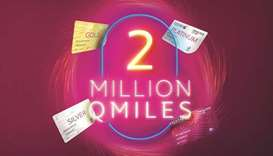 """Qatar Airways on Sunday said it has extended the Qmiles Millionaire draw until October 31 """"due to po"""