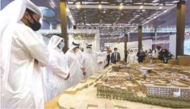 HE the Minister of Commerce and Industry and Acting Minister of Finance Ali bin Ahmed al-Kuwari duri