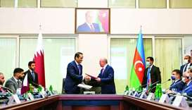 The agreement signing ceremony