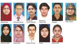 Pak Shama School scored 100% result in the HSSC - I Exam of the Federal Board of Intermediate & Seco