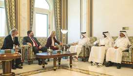 The meeting dealt with reviewing bilateral co-operation, a number of regional and international issu