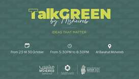 Talk Green to explore eco-related solutions
