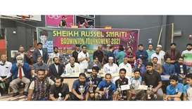 The ambassador attended the final matches of the Shaheed Sheikh Russel Smriti Badminton Tournament a