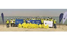 The initiative, themed 'Keep Qatar Clean' was organised to support Doha Bank's main aim of creating