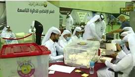 Shura Council elections: counting begins at polling stations