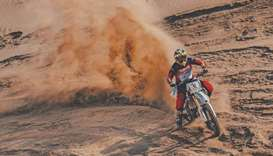 The rally, conducted by the Qatar Motor and Motorcycle Federation (QMMF), will cover a total distanc