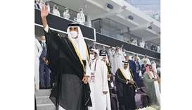 Amir attends final of the Amir Cup